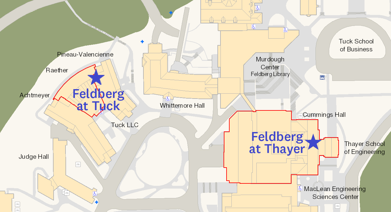 Feldberg Libraries Map