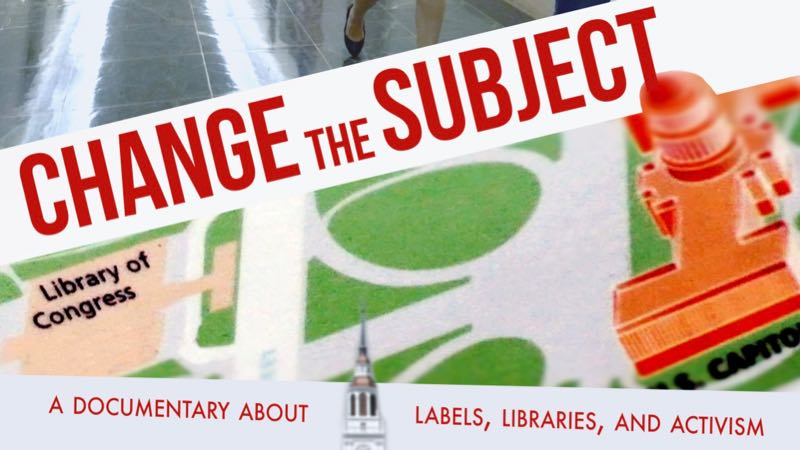 image from the poster for the Change the Subject documentary