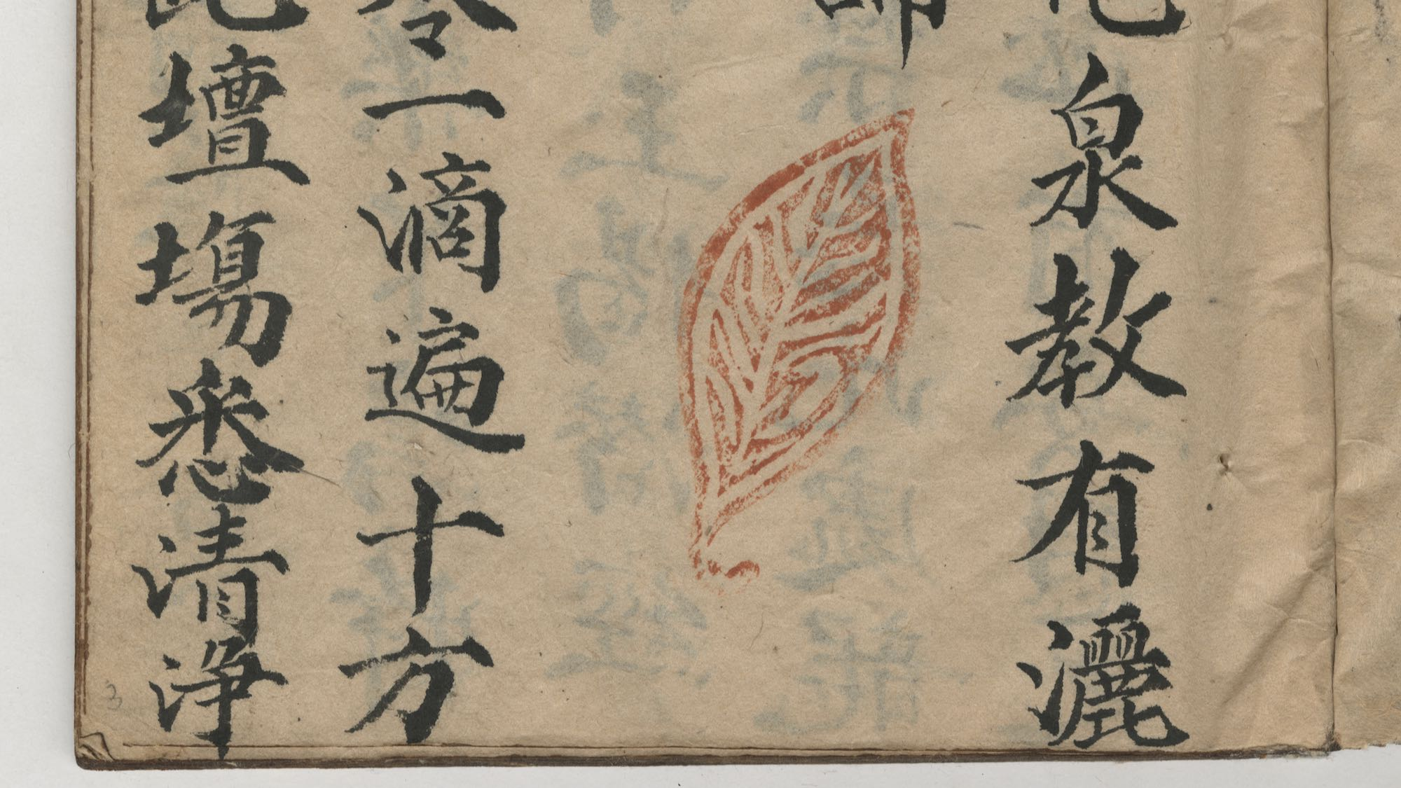 image from a manuscript collection of Sino-Viet Ritual Texts