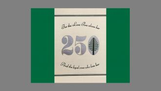Dartmouth's 250th anniversary bookplate