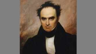 Daniel Webster portrait