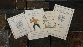 Dartmouth Library bookplate samples