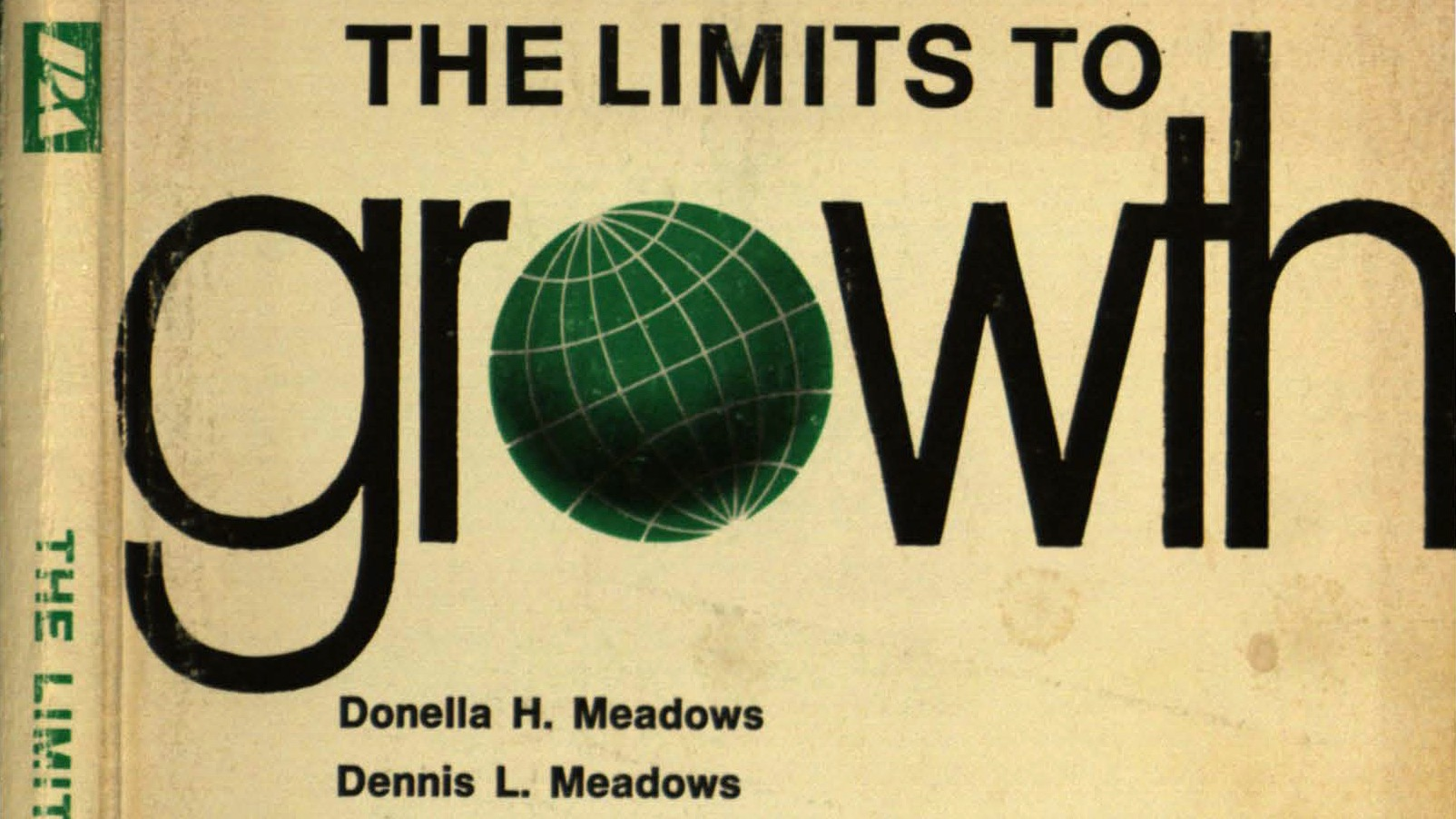 cover of the book The Limits to Growth by Donella Meadows et al